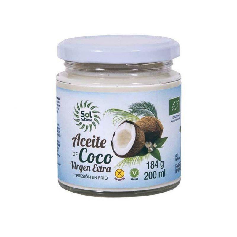Aceite de coco Bio, Sol Natural