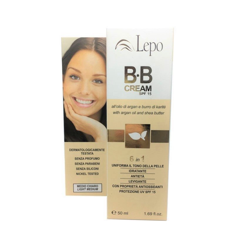 BB Cream 6 en 1 medio claro LEPOBb