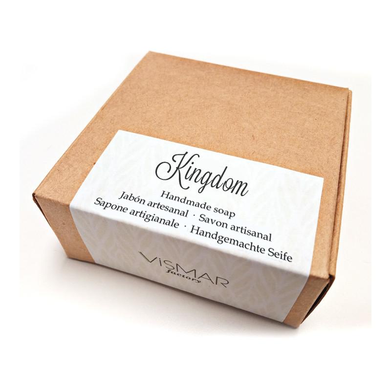 Jabón artesanal Kingdom con fragancia a perfume
