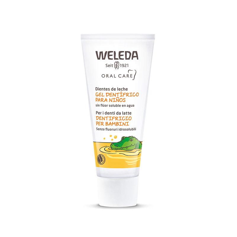 Gel dentífrico para niños, Weleda