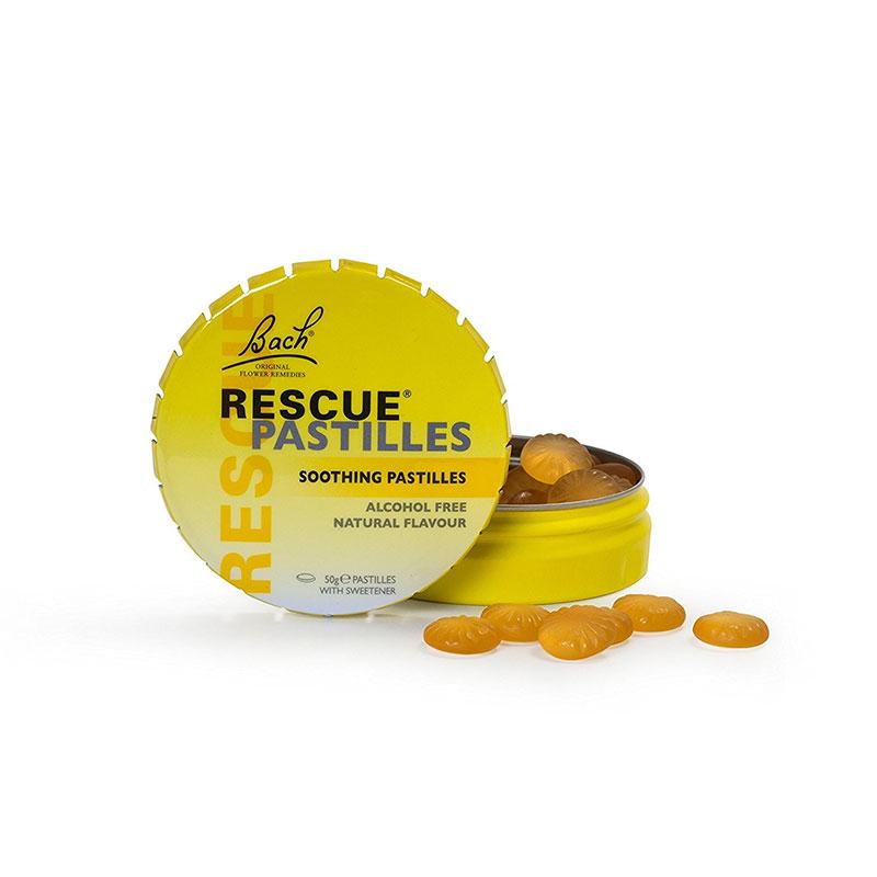 Rescue Pastillas de naranja y sauco, Bach