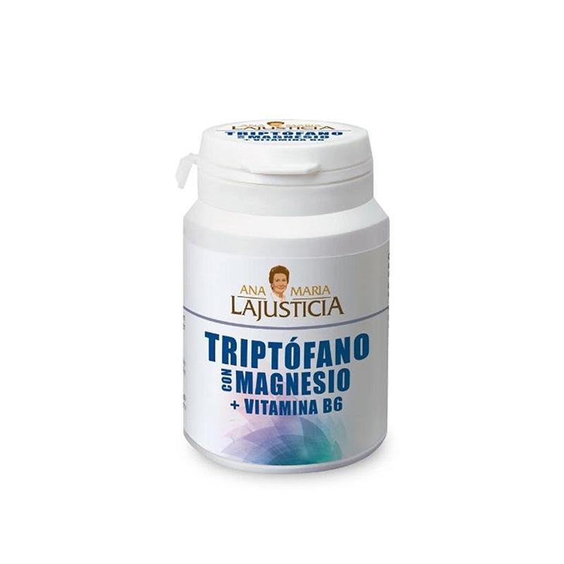 Triptófano con Magnesio + vitamina B6 60 comprimidos Ana María La Justicia
