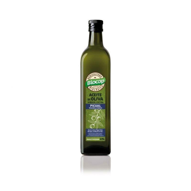 Aceite de Oliva Virgen Extra Picual Bio, Biocop 750ml