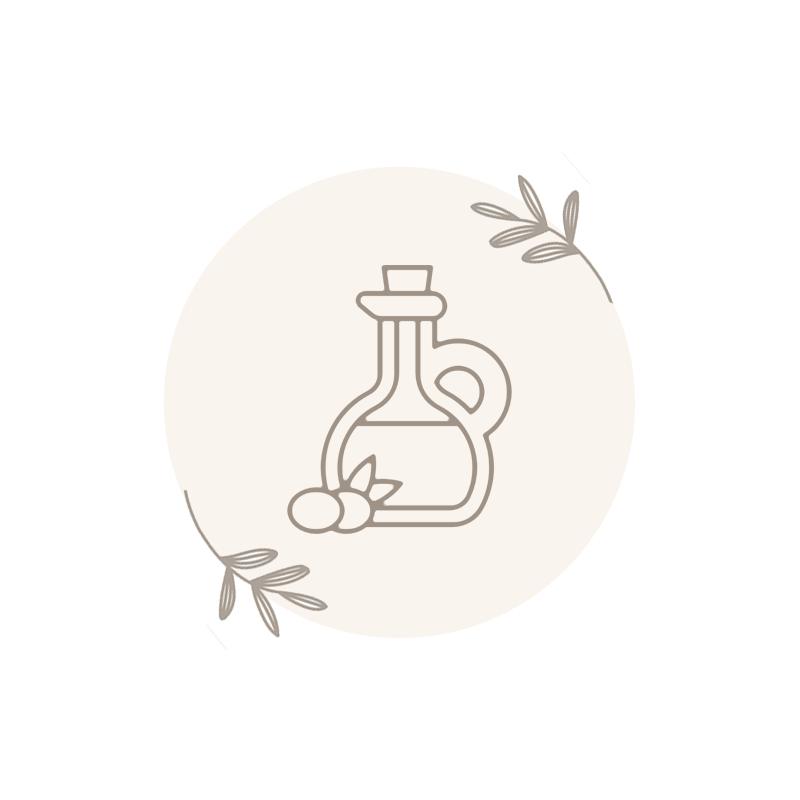 Vinagre y aceite ecológico